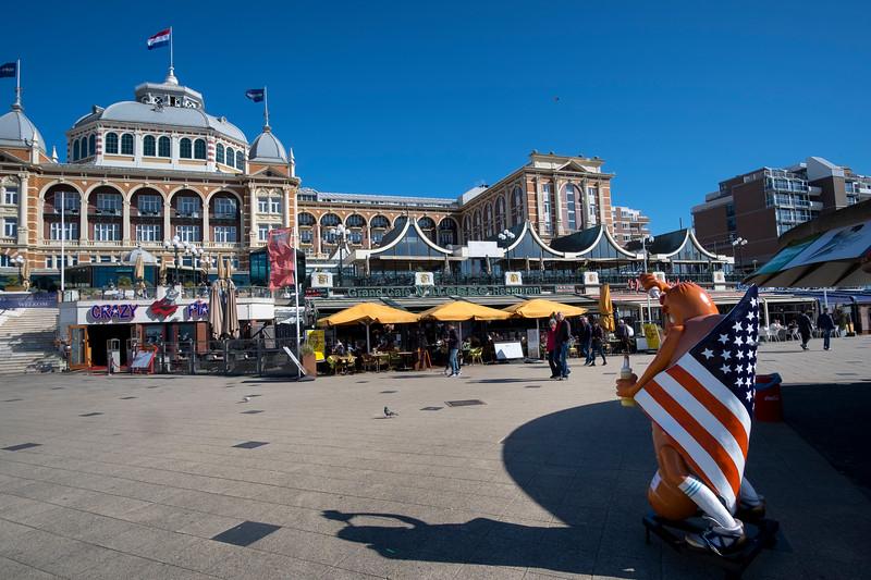 Plage de Scheveningen. Hollande. Mai 2017