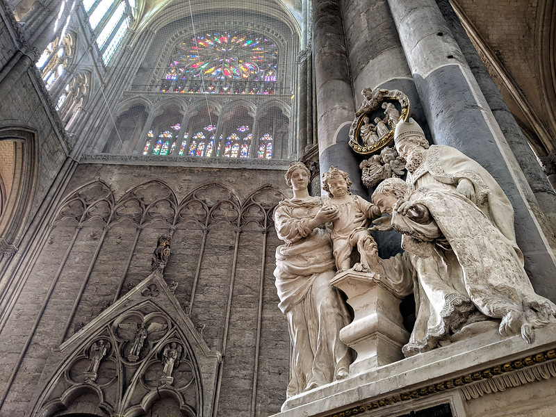 Amiens. Cathédrale. Janvier 2020