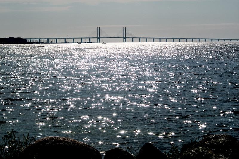 Pont entrte Copenhague (Danemark) et Malmö (Suède)