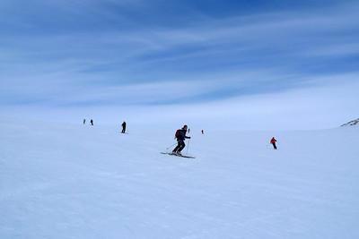 ...pas hyper faciles non plus, la neige a beau être crémeuse par endroit, elle reste soufflée !