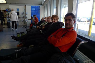 Mon dream Team, composé d'amateurs de belles aventures... Denis, Jeannine, Didier, Philippe, Fabrice et Sandrine en Orange.