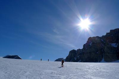 Le glacier est un bon Radada de 12 Km... mais quelle ambiance !