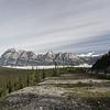 Vue de la promenade des glaciers