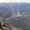 Vue de la ville de Jasper