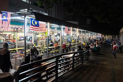 Food court, Ipoh, Malaisie