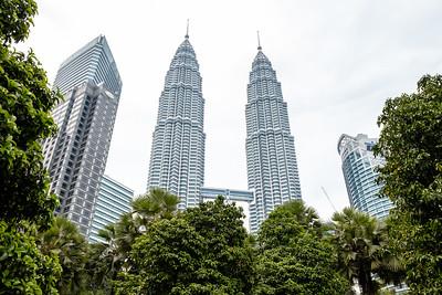 Petronas tower, Kuala Lumpur, Malaisie