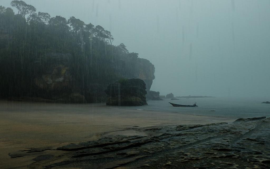 Telok Paku, Borneo, Malaisie