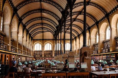 Bibliothèque Sainte-Geneviève - Paris - France