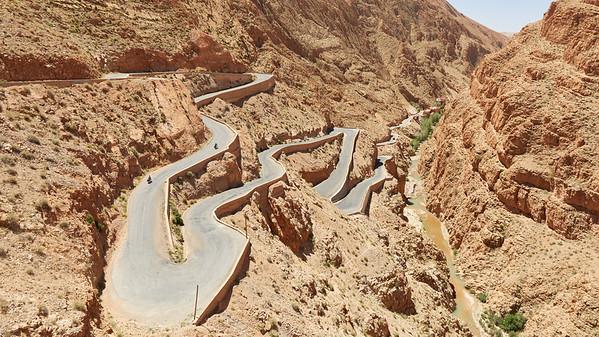 Vallée du Dadès, Maroc