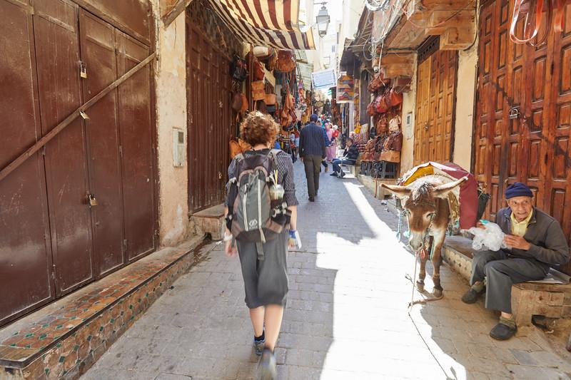 Souk de Fès, Maroc
