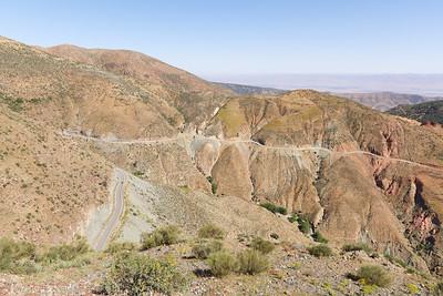 Sur la route du Tiz n' Test, Maroc