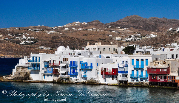 Mykonos, Greece. Oct 22, 2009