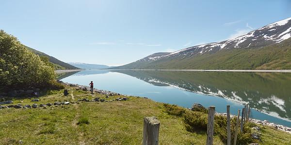 Gjevilvatnet, Norvège