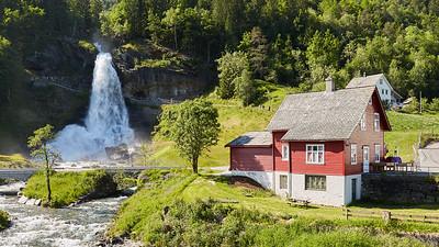 Steinsdalsfossen, Norway