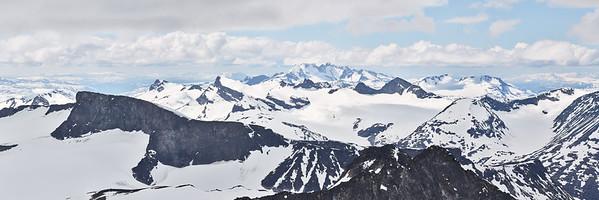 Galdhøpiggen, Norvège