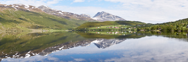 Eidsvatnet, Norvège