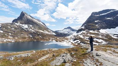Alnesvatnet, Norvège