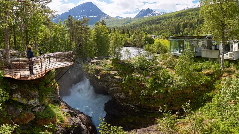 Gudbrandsjuvet, Norvège