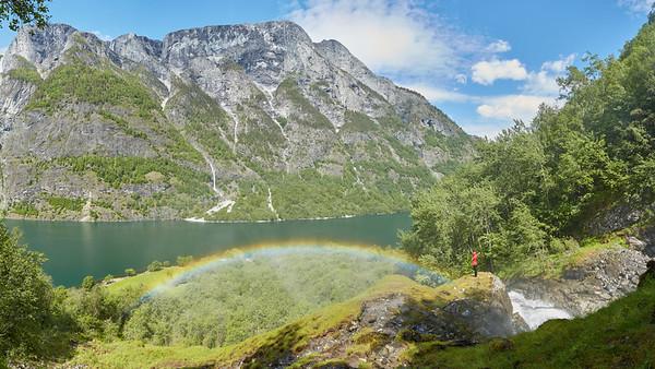 Nærøyfjorden, Norvège