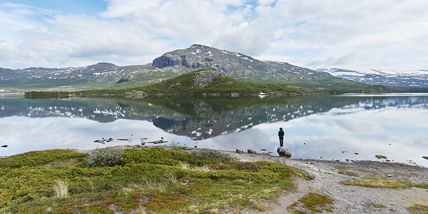 Lac Øvre Sjodalsvatnet