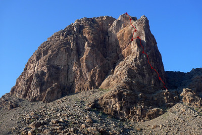 Al Hamra, Tour Est, voie Zizanie.