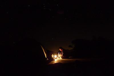 Ensuite, profitez du Bivouac sous les étoiles...