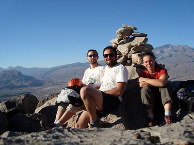 L6 & L7, pas de document mais très beau et varié... Le dream team au sommet, 1 an jour pour jour après l'Aconcagua...