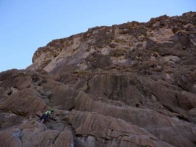 L'escalade est Magnifique, le rocher dément enfin tout quoi...