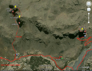 Al Hamra - Plan d'accès
