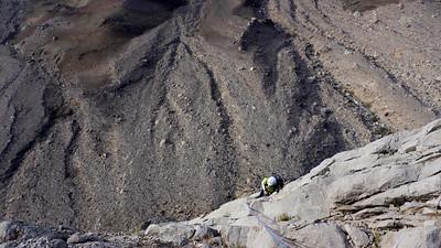 Le gaz nous englouti très vite et nous nous sentons seuls au monde dans cet océan de rocher...