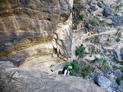 L'ambiance est démente, on a l'impression de grimper dans une grotte...