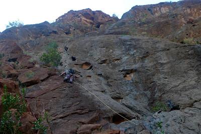 Snake Canyon Rive Gauche, le Pilier