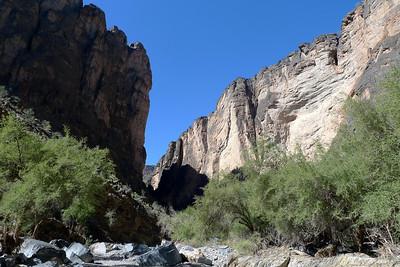 L'entrée du canyon proprement dit ( enfin la sortie ! )