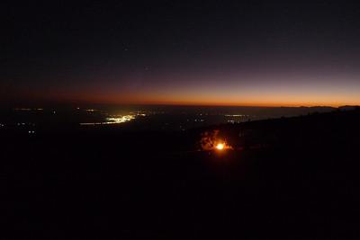 Avec les lumières et tout et tout, super romantique !
