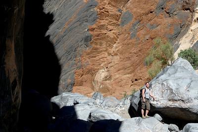 Puis le bas du canyon...