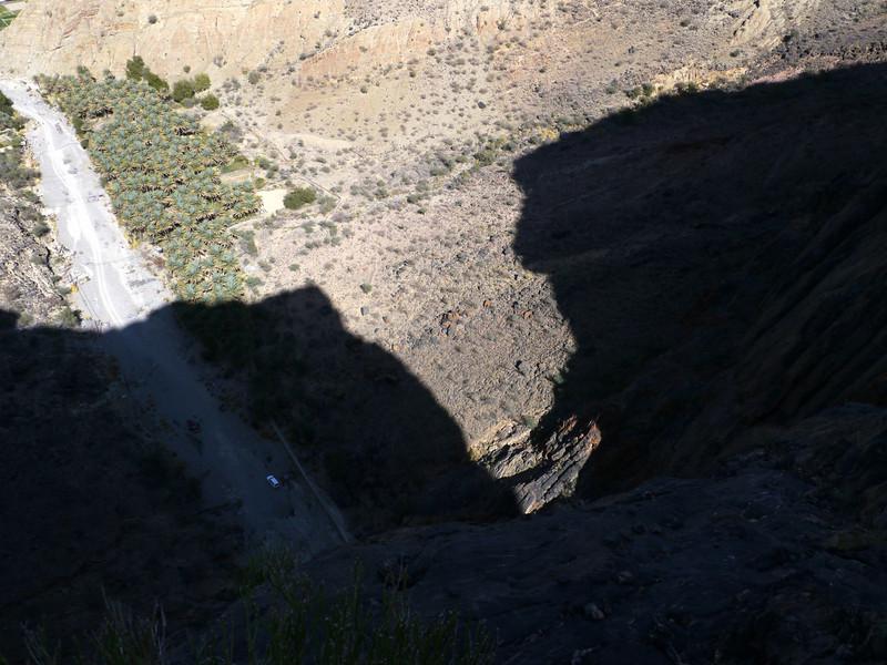 La sortie du Snake Canyon... Brrrr...