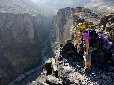 Le sommet est magnifique et offre une vue imprenable sur le Canyon...
