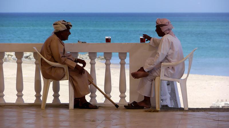 Grosse activité chez les Omanais !