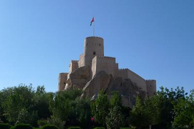 Fort en rentrant de Wadi Bani Awf...