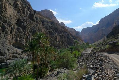 Puis nous entrons dans Wadi Saymat... Ambiance...