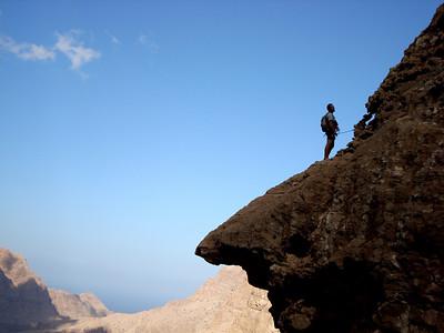 comme je vous disais, on ne vient pas à Wadi Diini pour grimper... On voyage...