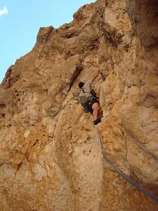 Je vous passe les commentaires fleuris du grimpeur...
