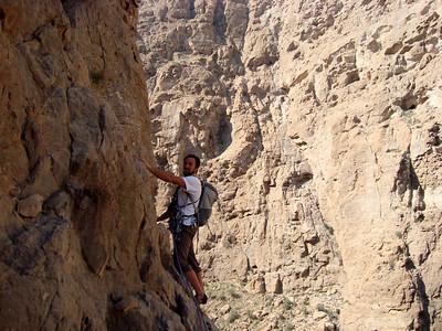Toujours cette ambiance de grand canyon...