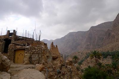 Il faut partir du village de Miban, cul de sac de cet immense Wadi...