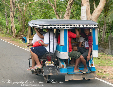 Hybrid Tricycle-Jeepney