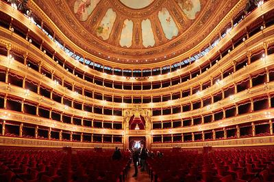Teatro Massimo Vittorio Emanuele, Palerme, Sicile, Italie