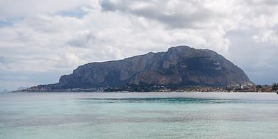 Monte Pellegrino da Monte Gallo