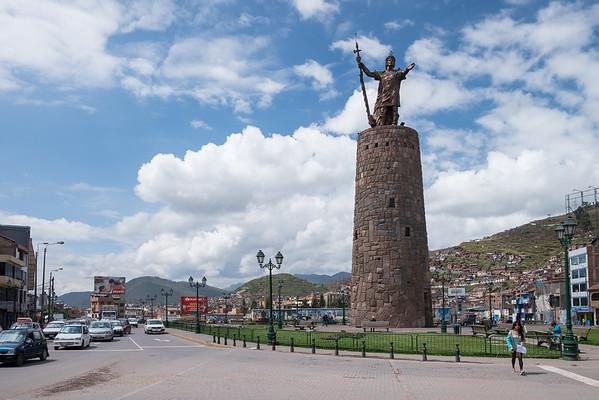 Monumento Inca Pachacutec, Óvalo de Pachacutec