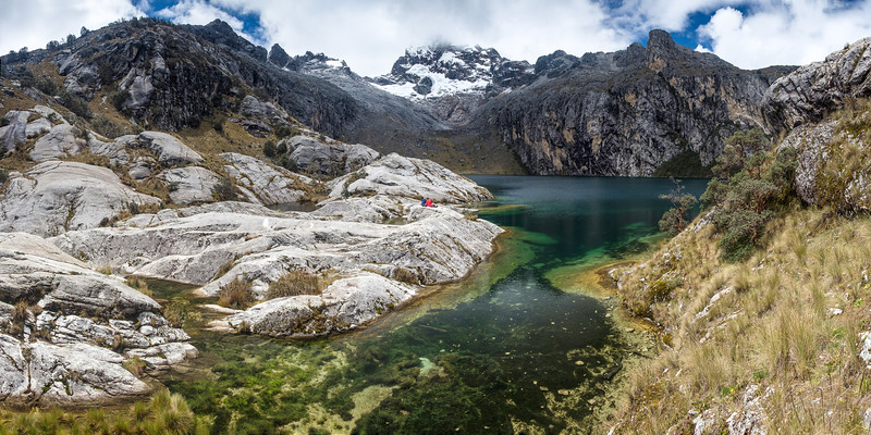 Laguna Churup, Huaraz, Cordillera Blanca, Pérou