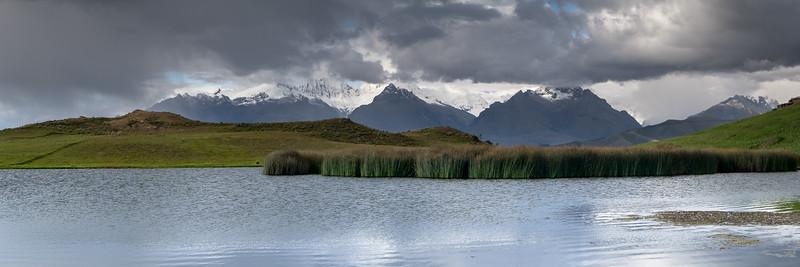 Laguna wilcacocha, Huaraz, Cordilerra Blanca, Pérou